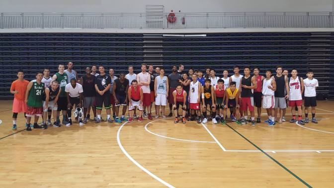 Entourage players among huge turnout at Supras Basketball, Pro-Am SBL tryouts