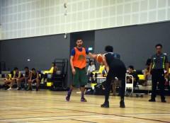 Amir in EBI practice gear