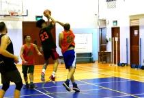 Newest guard Calvin soars