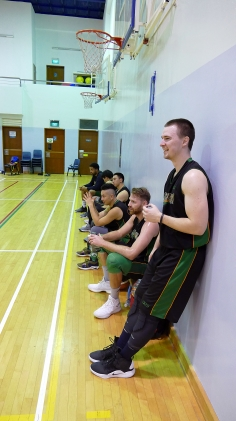 6 on the bench?! Good times