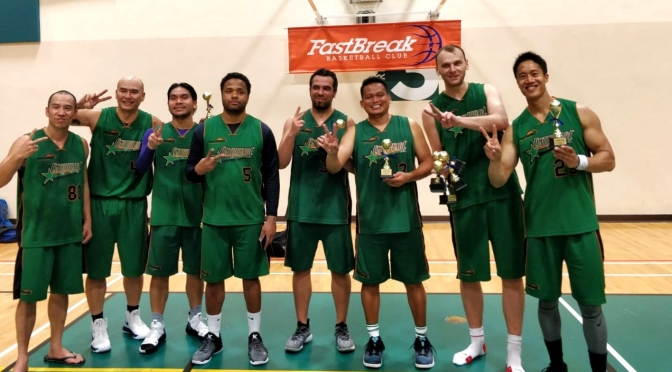 REPEAT! E.B.I-Weekday Team 27-0 enroute to re-capturing FastBreak League title.
