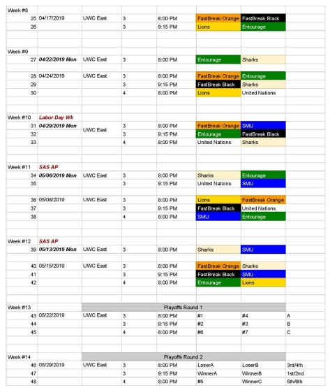 Men s League Schedule Spring 19-DRAFT - 20190227-page-002