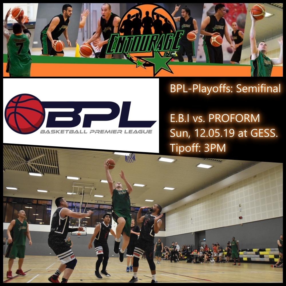 Final BPL Semifinal May 2019
